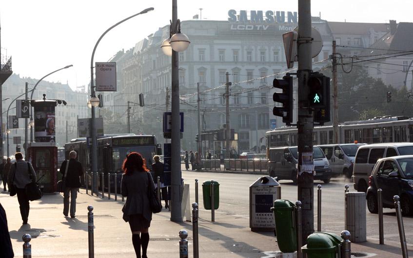 Innenstadt Budapest