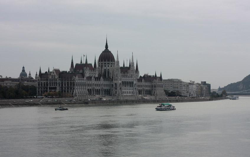 Das beeindruckende Parlamentsgebäude.