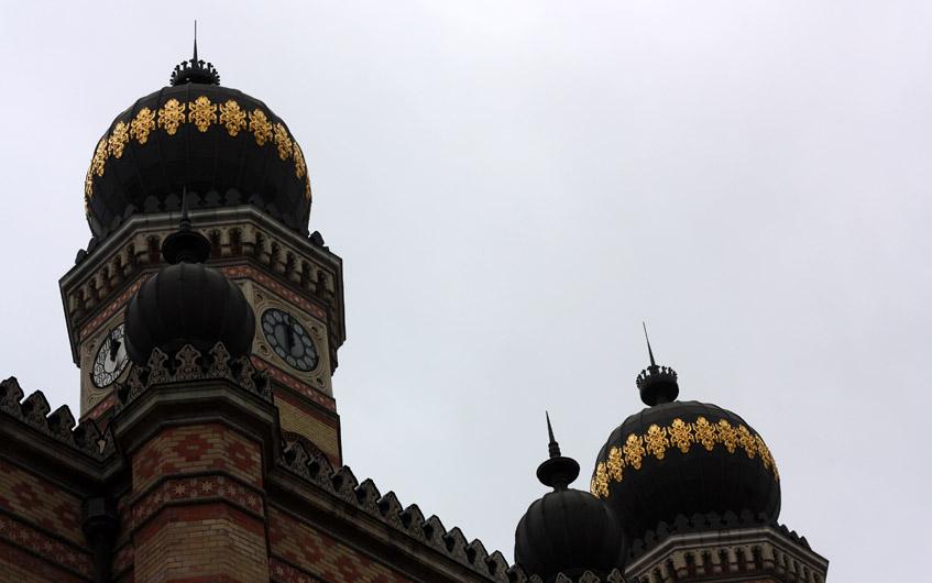 Die Synagoge in Budapest ist die zweitgrößte der Welt.