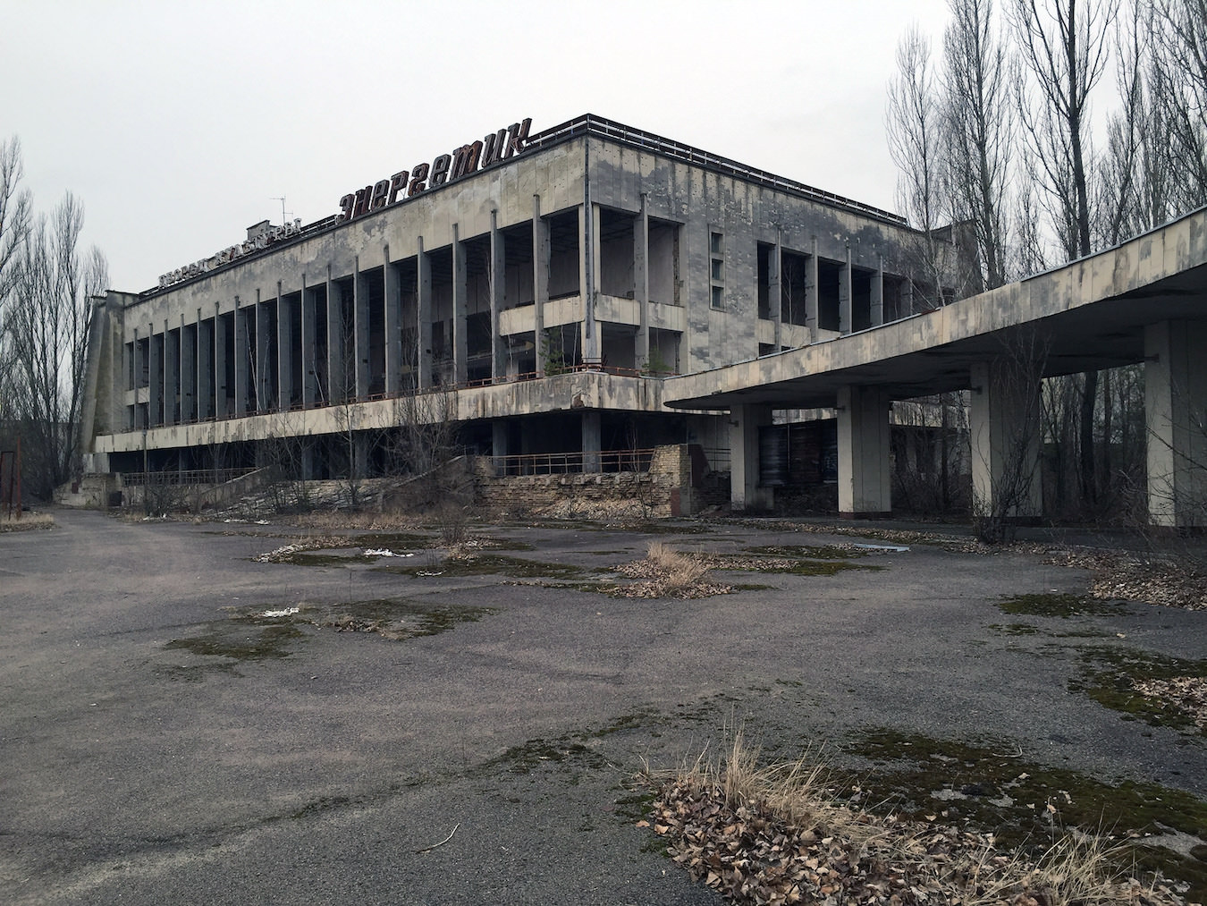 Prypjat was once a city of almost 50.000 people. Now it's a ghost town since 1986.