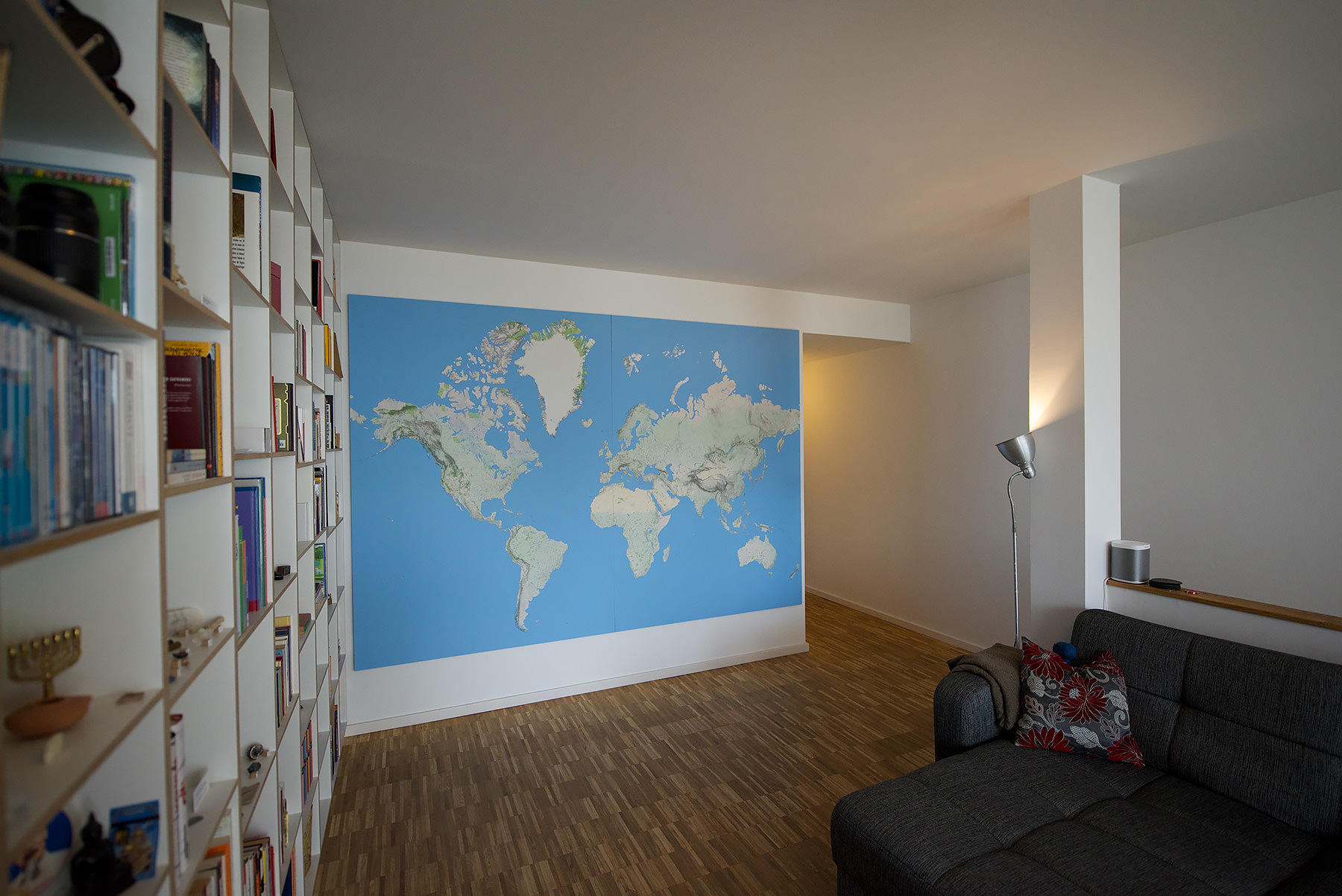 3x2 meters: my huge world map project is (almost?) finished.