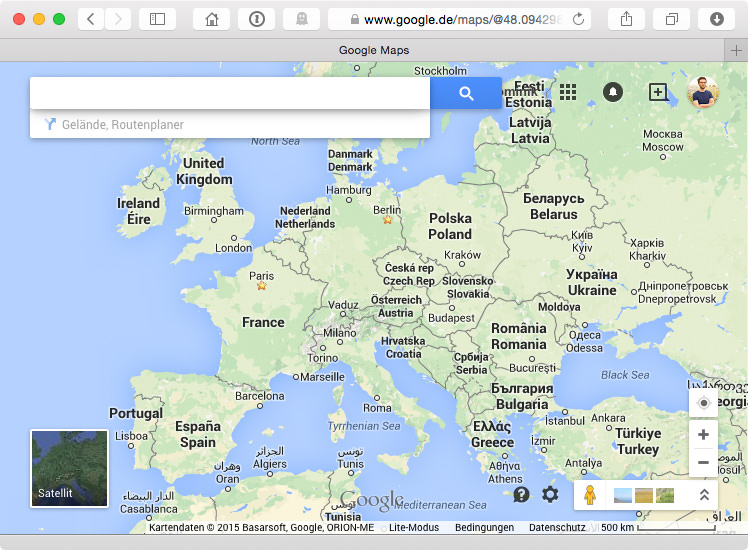 Printing a wall sized world map source screenshot from httpsgooglemaps gumiabroncs Image collections