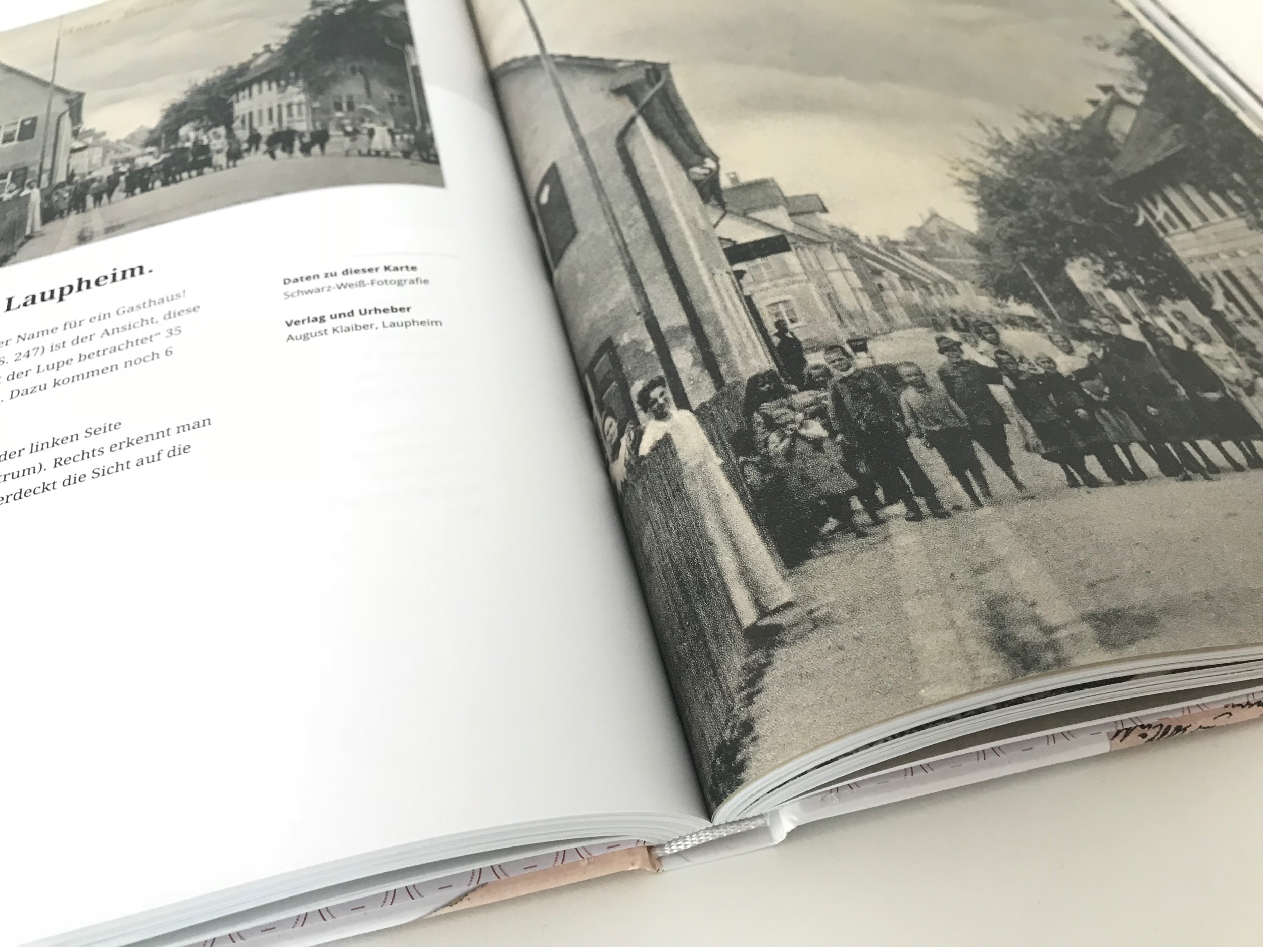 Die gescannten Ansichtskarten sind teils vergrößert und gestochen scharf gedruckt.
