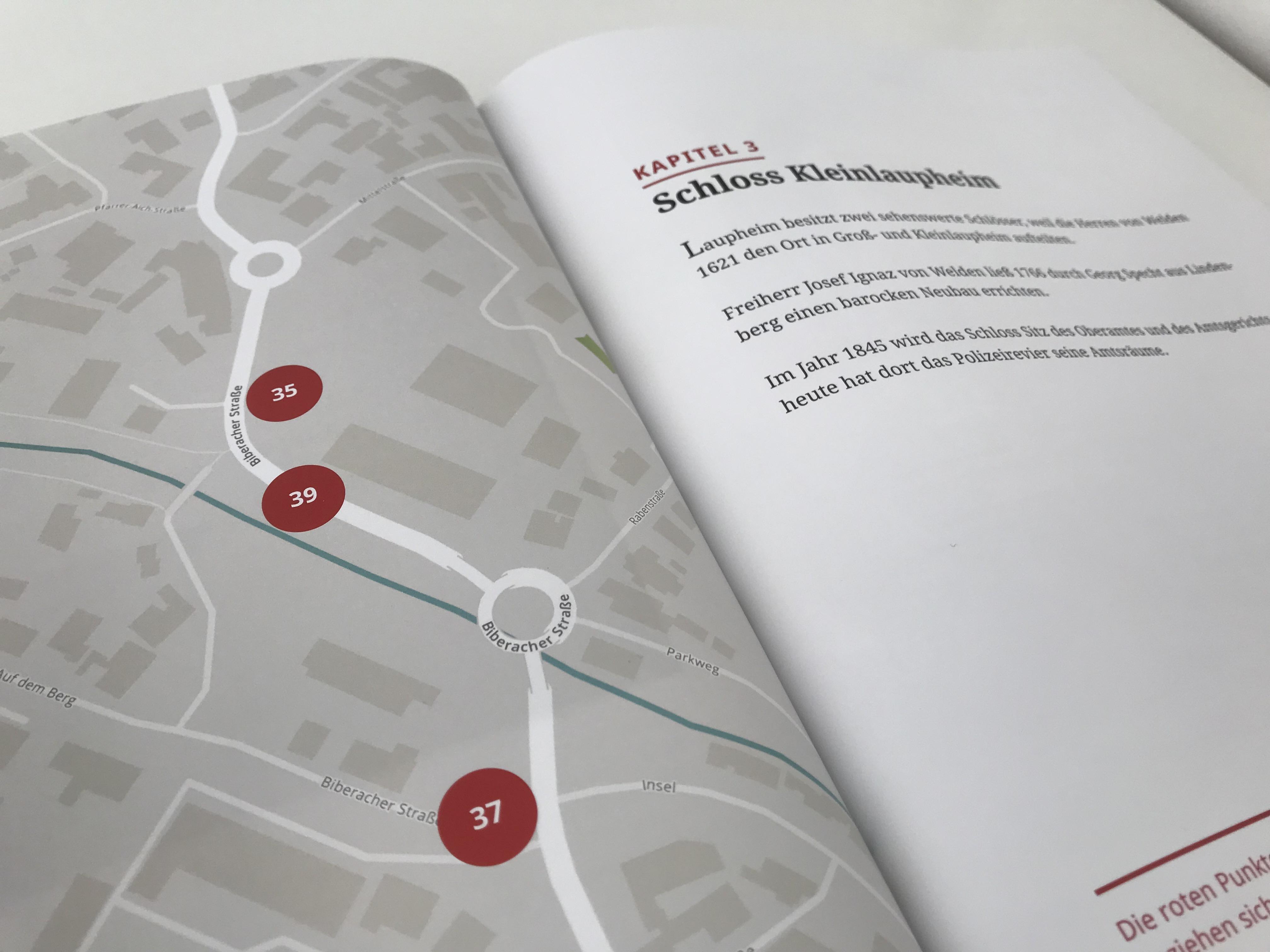 Kartenmaterial von Open Street Maps, designed mit Mapbox