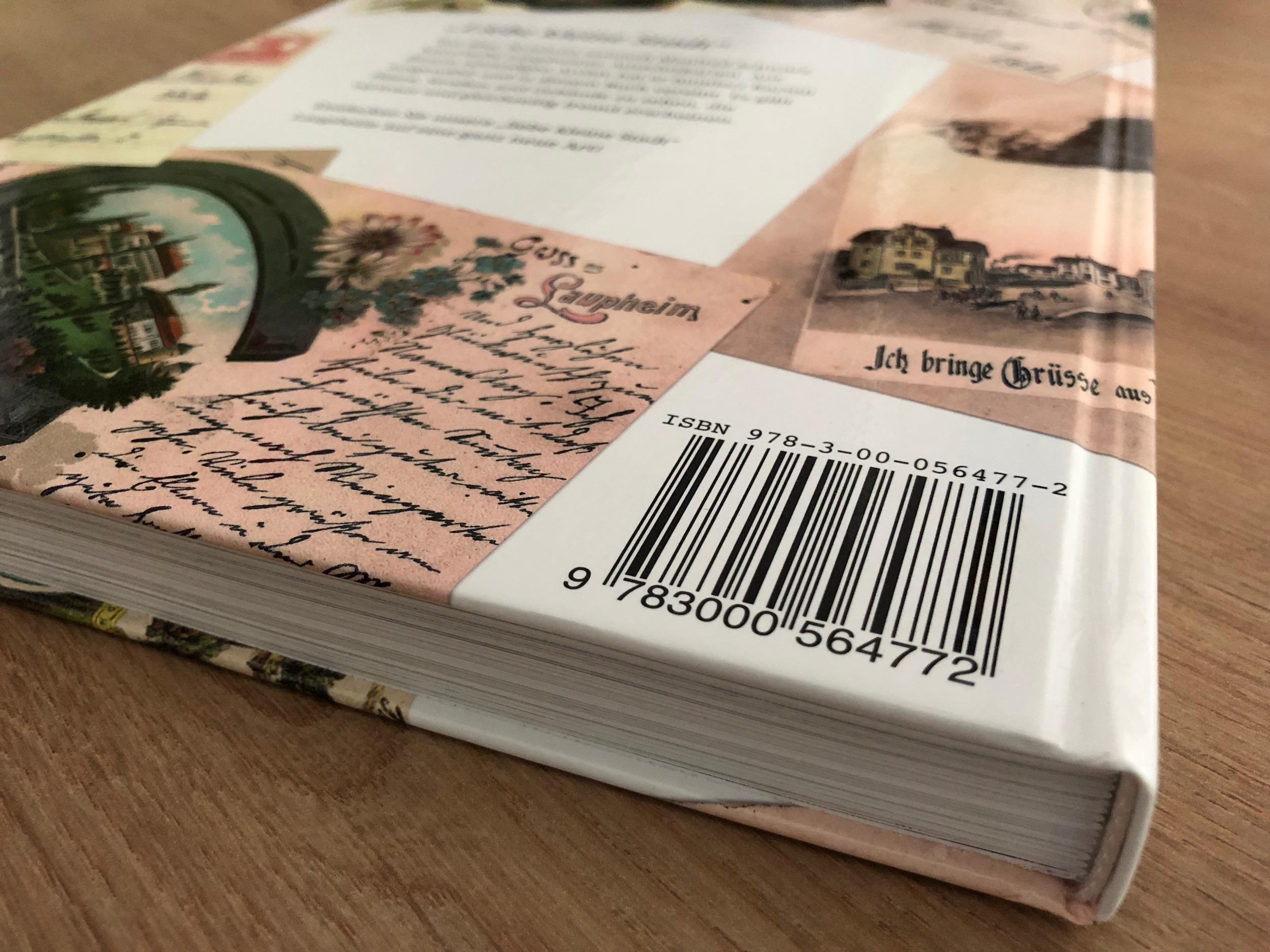 Ohne ISBN keine Listung im Buchhandel